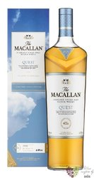 """Macallan Quest collection """" Quest """" Speyside single malt whisky 40% vol.  0.70 l"""