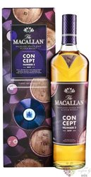 """Macallan """" Concept number 2 ed. 2019 """" Speyside whisky 40% vol.  0.70 l"""