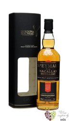 "Macallan 2002 "" Speymalt Gordon & MacPhail "" Speyside single malt whisky 43%vol.  0.70 l"