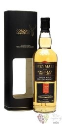 "Macallan 2004 "" Speymalt Gordon & MacPhail "" Speyside single malt whisky 43%vol.  0.70 l"