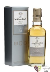 Macallan � Fine Oak � aged 10 years Speyside single malt whisky 40% vol.   0.05l