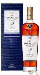 Macallan 18y Double    gB 43%0.70l
