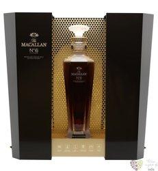 "Macallan no.6 "" Lalique "" Speyside single malt whisky 43%vol.  0.70 l"