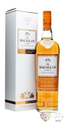 "Macallan 1824 series "" Amber "" Speyside single malt whisky 40% vol.  0.70 l"