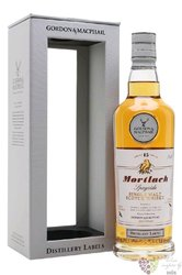 "Mortlach "" Distillery labels "" 15 years old Speyside whisky by Gordon & MacPhail 43% vol.   0.70"
