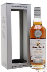 "Mortlach "" Distillery labels "" 21 years old Speyside whisky by Gordon & MacPhail 43% vol.   0.70"