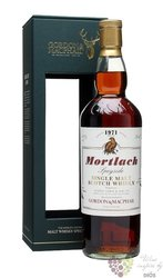 "Mortlach 1971 "" Rare vintage of Gordon & MacPhail "" Speyside whisky 43% vol   0.70 l"