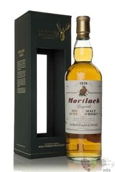 "Mortlach 1976 "" Rare vintage of Gordon & MacPhail "" Speyside whisky 43% vol   0.70 l"