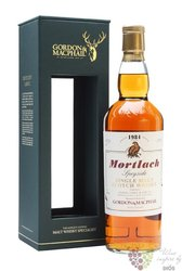 "Mortlach 1984 "" Rare vintage of Gordon & MacPhail "" Speyside whisky 43% vol   0.70 l"