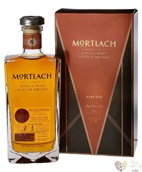 "Mortlach "" Rare old "" single malt Speyside whisky 43.4% vol.  0.50 l"