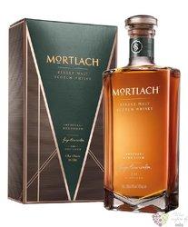 """Mortlach """" Special Strength """" single malt Speyside whisky 49% vol.  0.50 l"""