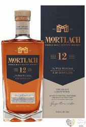 "Mortlach "" the Wee Witchie "" aged 12 years single malt Speyside whisky 43.4% vol.  0.70 l"
