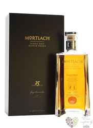 Mortlach aged 25 years single malt Speyside whisky 43.4% vol.  0.50 l