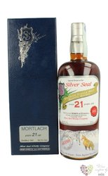 "Mortlach 1991 "" Silver Seal "" aged 21 years single malt Speyside whisky 56.3% vol.    0.70 l"
