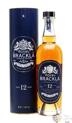 Royal Brackla aged 12 years Highland whisky 40% vol.  0.70 l
