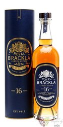 Royal Brackla aged 16 years Highland single malt Scotch whisky 40% vol. 0.70 l