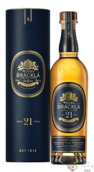 Royal Brackla aged 21 years Highland single malt Scotch whisky 40% vol. 0.70 l