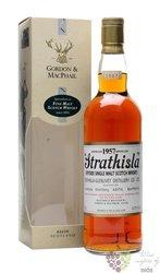 """Strathisla 1957 """" Gordon & MacPhail Rare vintage """" Speyside whisky 43% vol.0.70l"""