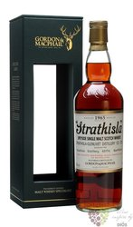 """Strathisla 1965  """" Rare vintage of Gordon & MacPhail """" Speyside whisky 43% vol.0.70 l"""