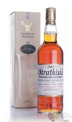 """Strathisla 1967 """" Rare vintage of Gordon & MacPhail """" Speyside whisky 43% vol.0.70 l"""