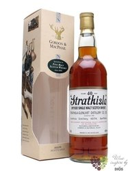 "Strathisla "" Distillery abels "" 40 years old Speyside whisky by Gordon & MacPhail 43% vol.   0.7"