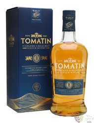 Tomatin aged 8 years Speyside single malt whisky 46% vol.  1.00 l