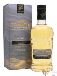 "Tomatin Five Virtues Series "" Metal "" single malt Speyside whisky 46% vol.  0.70 l"