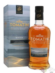 "Tomatin Five Virtues Series "" Water "" single malt Speyside whisky 46% vol.  0.70 l"