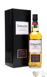 "Tomatin 1990 "" Single cask collection "" Speyside single malt whisky 58.6% vol.0.70 l"
