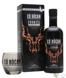 "Tomatin 2006 "" Cu Bocan "" Speyside single malt whisky 50% vol.  0.70 l"