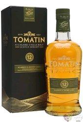 "Tomatin "" Bourbon & sherry casks "" aged 12 years Speyside single malt whisky 43% vol.  1.00 l"