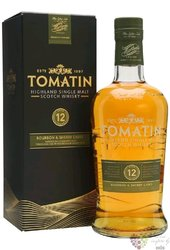 "Tomatin "" Bourbon & sherry casks "" aged 12 years Speyside single malt whisky 43% vol.  0.70 l"