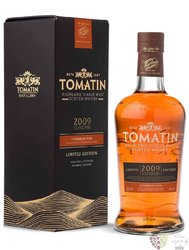 "Tomatin 2009 "" Caribbean rum cask "" 10 years old Speyside single malt whisky 46% vol.  0.70l"