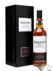 Tomatin 1967 aged 40 years Speyside single malt whisky 42.9% vol.  0.70 l