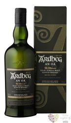 "Ardbeg "" An Oa "" single malt Islay whisky 46.6% vol.  0.70 l"