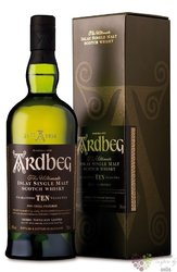 "Ardbeg "" TEN "" aged 10 years single malt Islay whisky 46% vol.  1.00 l"