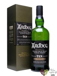 "Ardbeg "" TEN "" aged 10 years single malt Islay whisky 46% vol.   0.35 l"