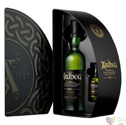 "Ardbeg the Ultimate "" TEN Quadrant mini "" aged 10 years Islay whisky 46% vol.  0.70 l"