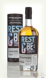 "Bowmore 1990 "" Rest & Be Thankful "" aged 25 years Islay whisky 53.7% vol.   0.70 l"
