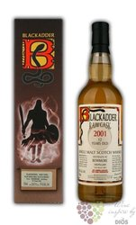 "Bowmore 2001 "" Blackadder Raw cask "" aged 12 years Islay whisky 58.5% vol.   0.70 l"