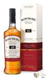 "Bowmore "" Dark & intense "" aged 10 years Islay whisky 40% vol. 0.20 l"