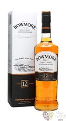 Bowmore 12 years old single malt Islay whisky 40% vol.  1.00 l