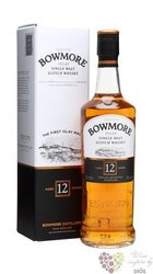 Bowmore 12 years old single malt Islay whisky 40% vol.   0.35 l
