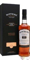 Bowmore 25 years old Single malt Islay whisky 43% vol. 0.70 l