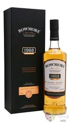 "Bowmore 1988 "" Vintage edition "" aged 28 years single malt Islay whisky 48% vol. 0.70 l"