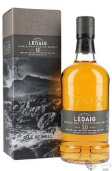 Ledaig 10 years old single malt Mull whisky 46.3% vol.  0.70 l