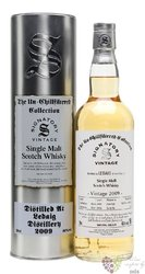 "Ledaig 2009 "" The Un-Chillfiltered Collection "" Mull whisky by Signatory 46% vol.  0.70 l"