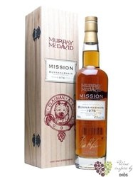 "Bunnahabhain 1976 "" Mission Gold Serie "" aged 31 years Fino by Murray McDavid 48.1% vol.    0.70 l"