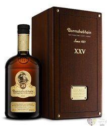 Bunnahabhain 25 years old single malt Islay whisky 43% vol.   0.70 l