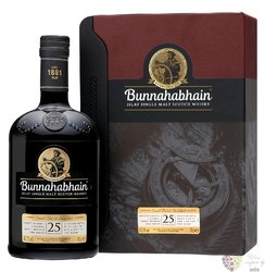 Bunnahabhain 25 years old single malt Islay whisky 46.3% vol.  0.70 l